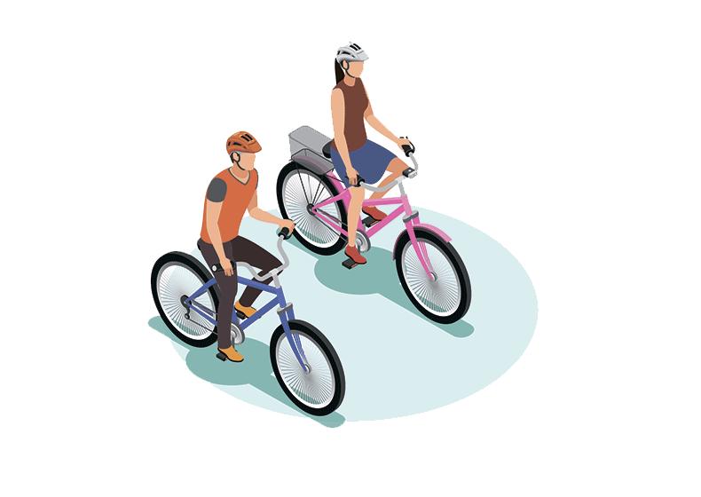 Велосипед арендовать не желаете?
